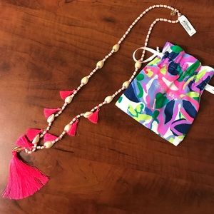 Lilly Pulitzer Tassle Necklace